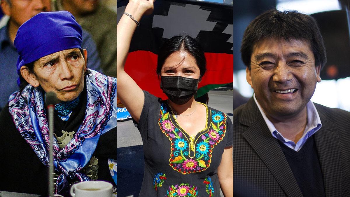 Estos son los 17 representantes de los pueblos originarios que lideraron la votación a la Convención Constituyente