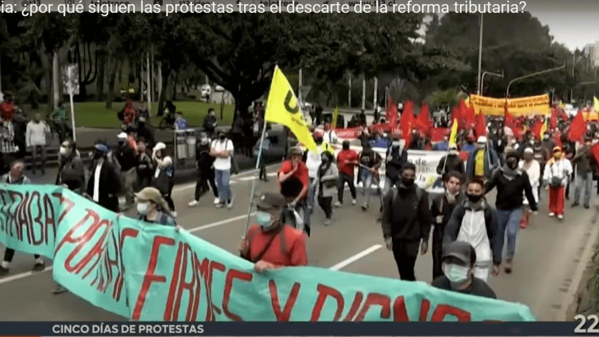La movilización del pueblo colombiano es nuestra lucha