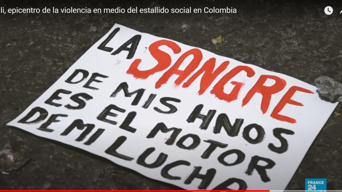 Colombia: La policía y el ejército continúan reprimiendo al pueblo