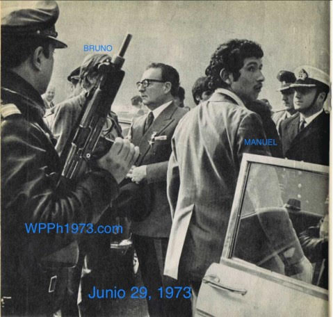 Estudio del vestuario del Presidente Allende el día del Tancazo