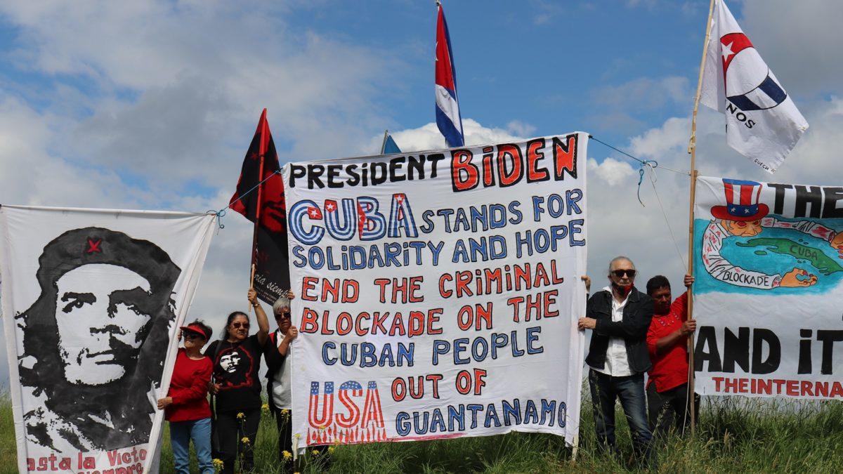 Estocolmo adhiere a caravana mundial contra el bloqueo yanqui a la Patria cubana