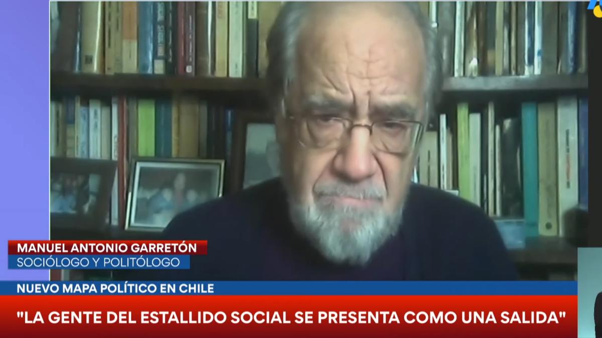 Manuel Antonio Garretón: «Estas elecciones han sido la proyección institucional del estallido en Chile»