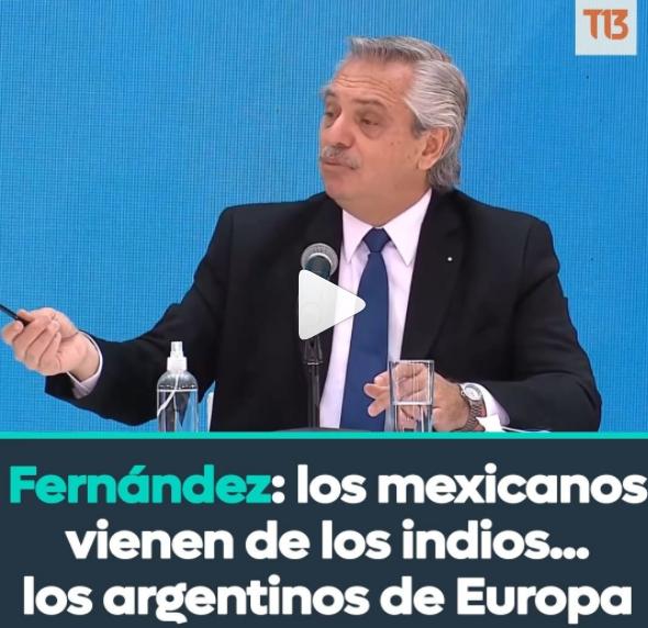 «Los argentinos descienden de los barcos…»