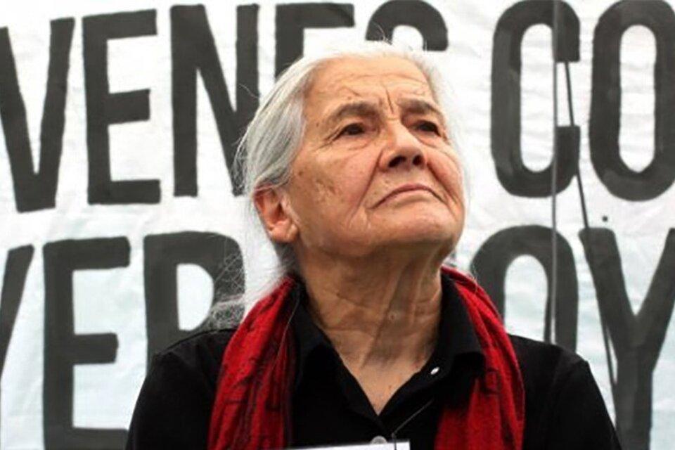 Murió Luisa Toledo, faro de la lucha por los derechos humanos en Chile