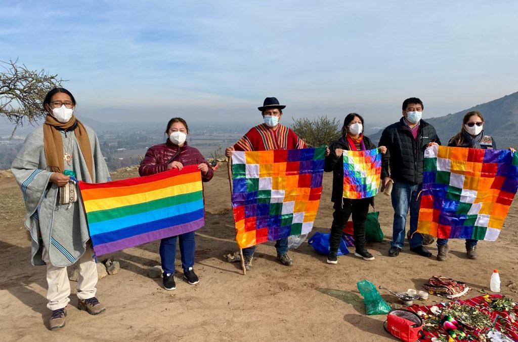Se realizó ceremonia ancestral Aymara en Cerro Chena