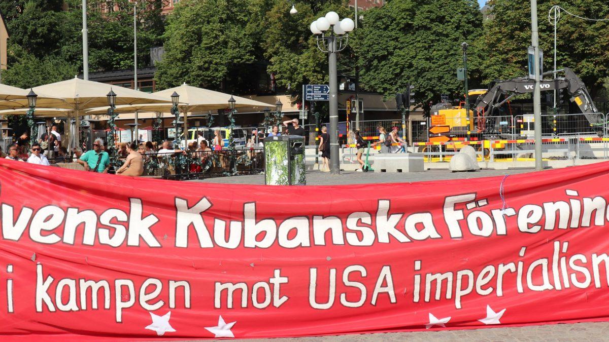 ¡Cuba, Cuba, Cuba, Suecia te saluda! En Estocolmo decimos, ¡Siempre es 26!