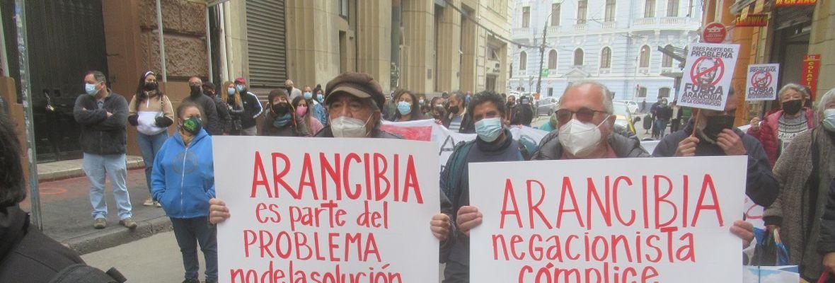 Valparaíso: Organizaciones de DD.HH. repudian presencia de Jorge Arancibia en Comisión de Derechos Humanos de la Convención Constitucional