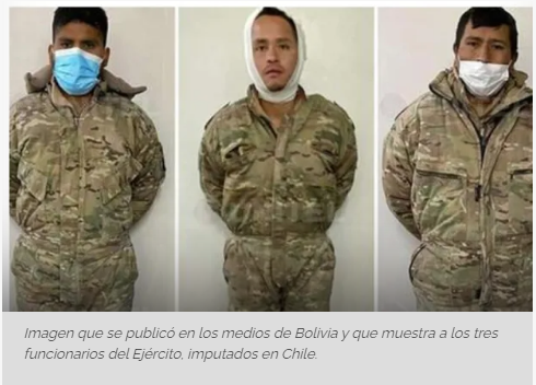 Colchane, Chile: Defensa de militares bolivianos acusa detención ilegal