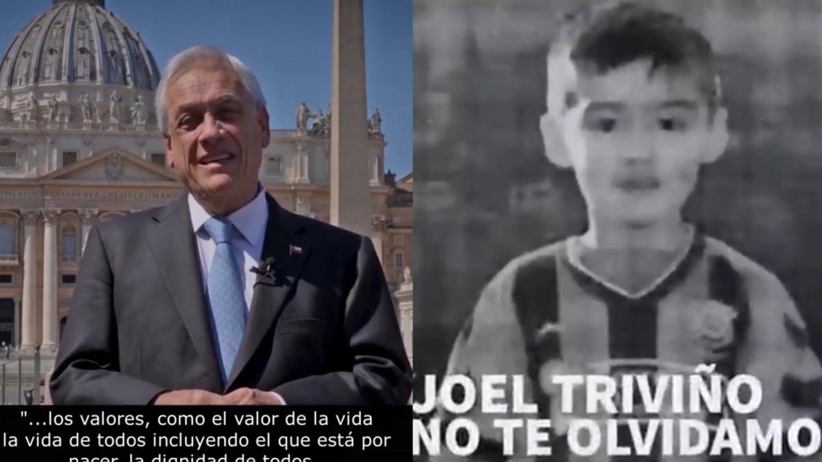¡Piñera es responsable de crímenes de lesa humanidad!