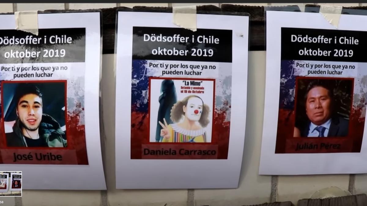 Estocolmo: Con Chile y su pueblo en el corazón