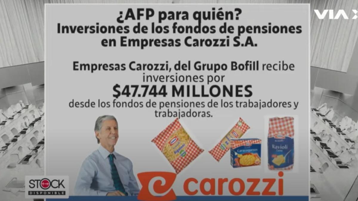¿Quién dirige Carozzi?