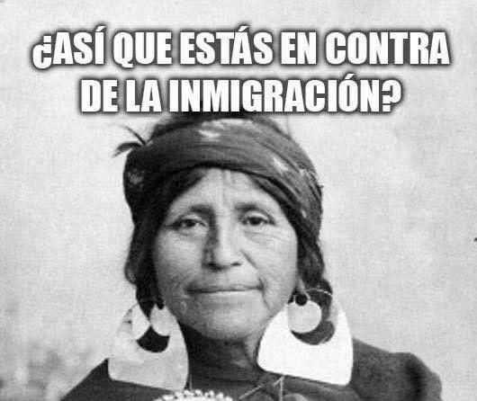 ¿Estás contra la inmigración?