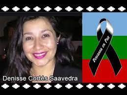 Denisse Cortés, integrante de la Defensoría Popular fue asesinada mientras intentaba detener la represión de Carabineros