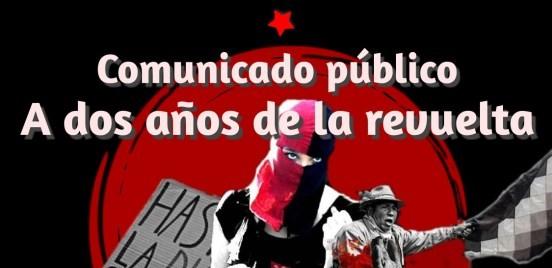 Chile, a dos años de la Revuelta. Organizaciones populares llaman a protesta nacional