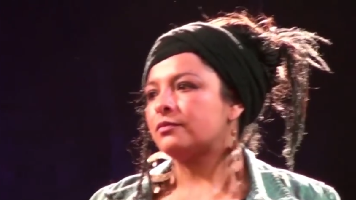 Nina Uma, la warmi de fuego y agua del hip hop boliviano